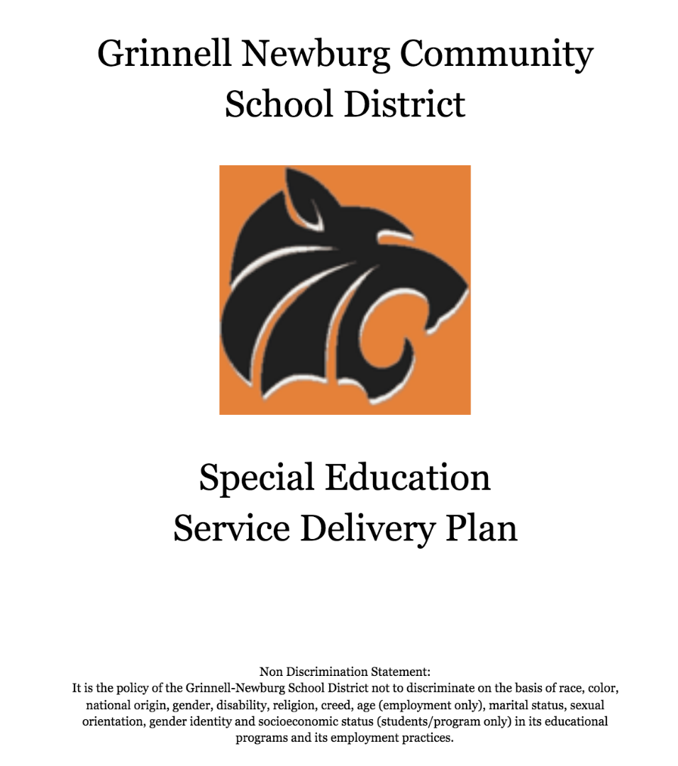 Special Ed Plan