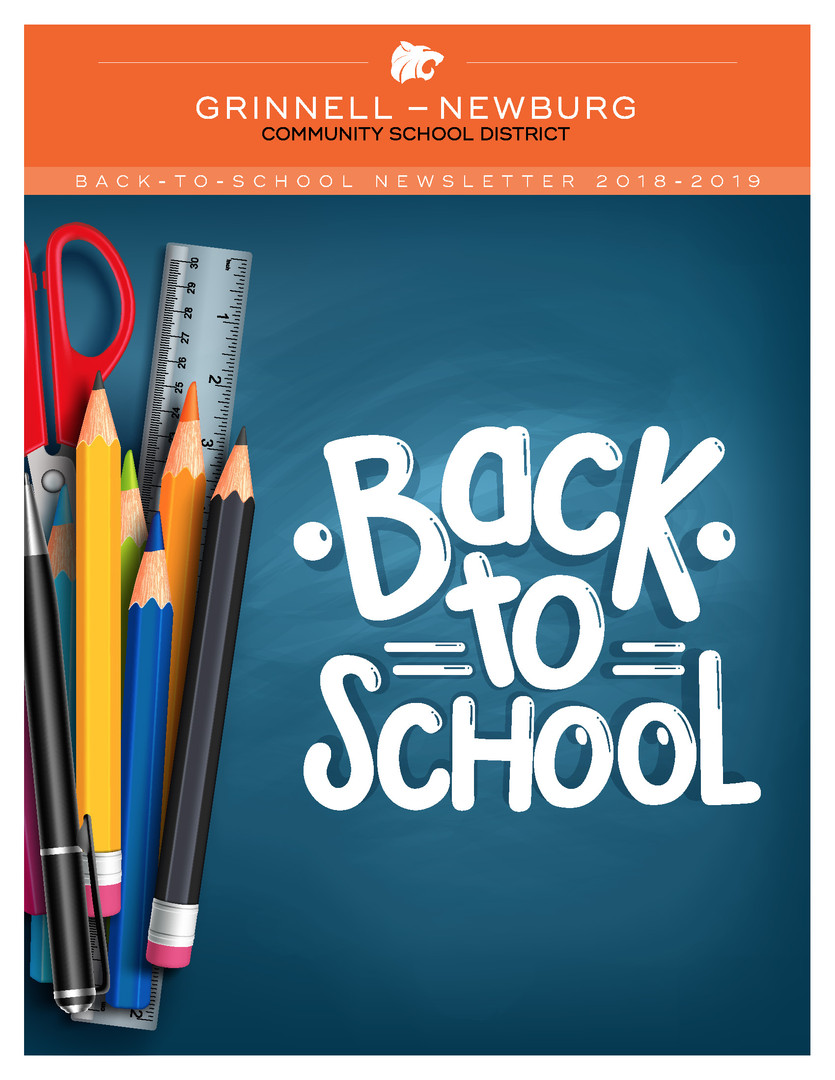 2018-19 Back to School Newsletter